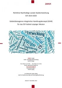 Gebietsbezogenes integriertes Handlungskonzept für das ESF-Gebiet Leipziger Westen