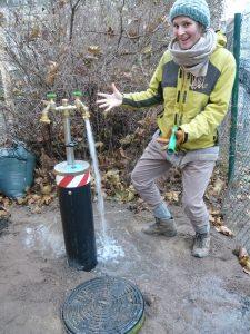 Wasserversorgung des Stadtgartens H17 e.V.