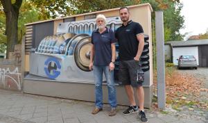 Artikel über Vulkanisierwerkstatt und Firma Gummi Held im Leipziger Westen