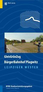 Faltblatt Plagwitzer Bahnhof