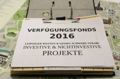 Verfügungsfonds 2016