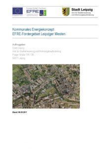 Kommunales Energiekonzept EFRE