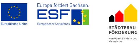 Logo EFRE und Städtebauförderung