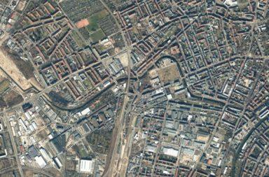 Luftbild Leipziger Westen