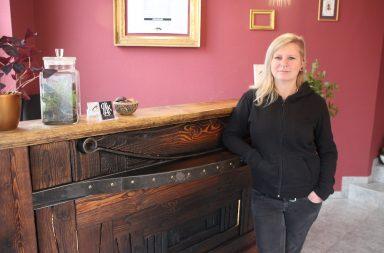 Kathrin Wolz, freie Kosmetikerin in der Barockade