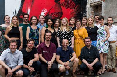 Das gesamte Team von Relax Commerce/ Wundercurves