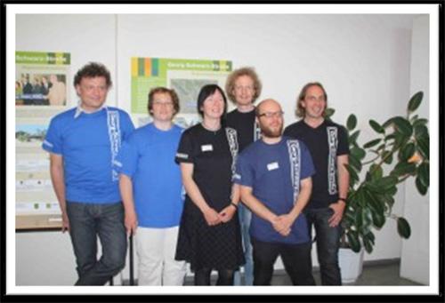 Team des Magistralenmanagements Georg-Schwarz-Straße